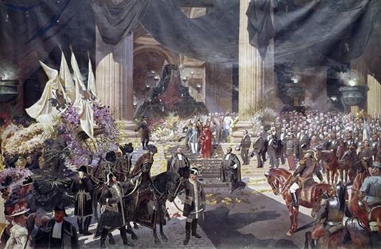 Funérailles du Président Sadi Carnot célébrées au Panthéon, le 1er juillet 1894, Georges Jules BERTRAND
