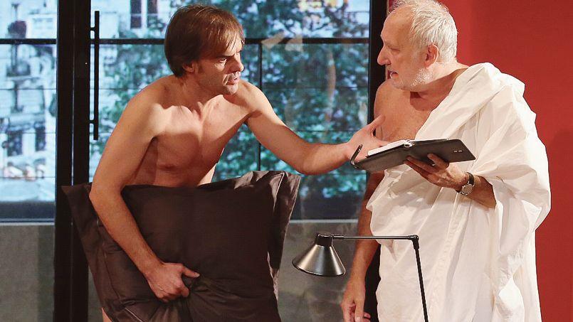 DEUX HOMMES TOUT NUS (Ladislas Chollat 2014)