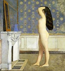 Nu devant la cheminée. 1908. Balthus