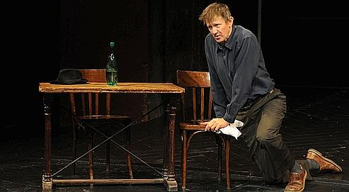 L'ART DU RIRE - Mise en scene : Jos HOUBEN - Avec : Jos HOUBEN - Au Theatre des Bouffes du Nord - Le 28 novembre 2008 - Photo : Pacome POIRIER/Wikispectacle