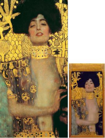 Judith, 1901. Huile sur toile, 84 x 42 cm © Belvédère, Vienne