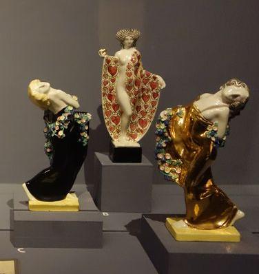 Scénographie avec, de Michael Powolny, Danseuses, c. 1907 - 1910.