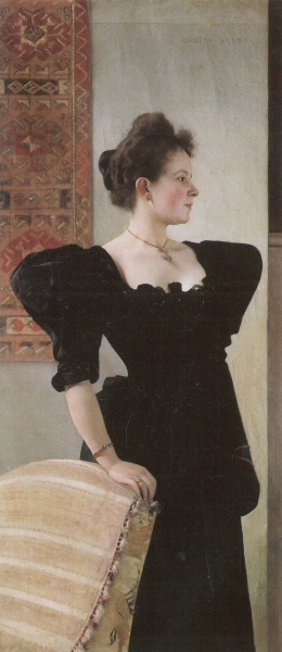 Portrait of Marie Breunig, Gustav Klimt