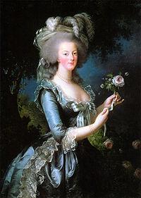 Marie-Antoinette en 1783, par Élisabeth Vigée Le Brun