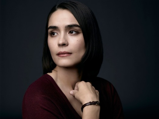 WAYWARD PINES:  Shannyn Sossamon as Theresa Burke.  ©2014 Fox Broadcasting Co. Cr:  James Minchin/FOX
