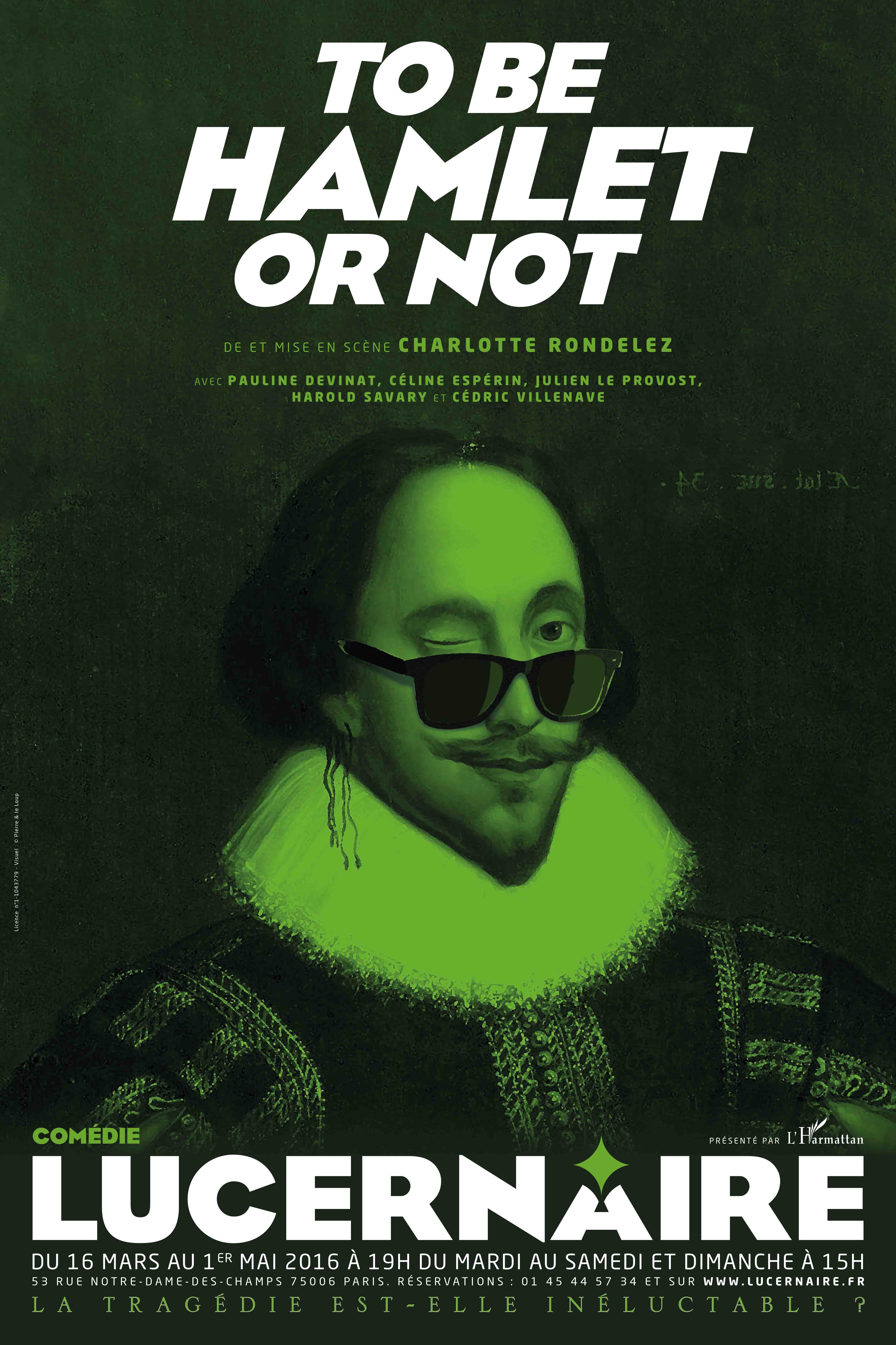 AFFICHE To be Hamlet or not_HD