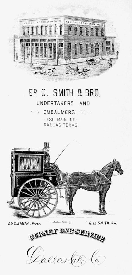 Corbillard-cab-à-deux-roues-à-Dallas-en-1889