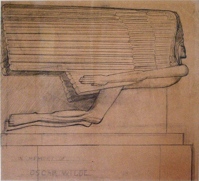 epstein-study-for-the-tomb-of-oscar-wilde-1909