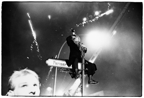 Brandenburg Gate #4, Berlin, Germany, New Year's Eve, 1989