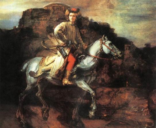 rembrandt-cavalier-polonais